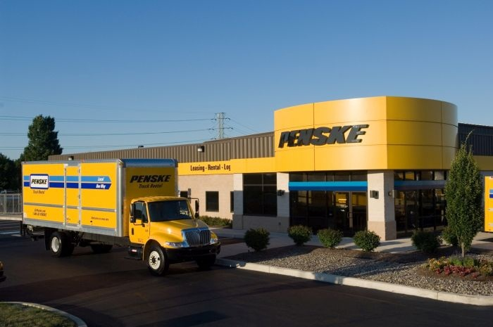The new Norton, Mass. location of Penske Truck Leasing. Photo: Penske