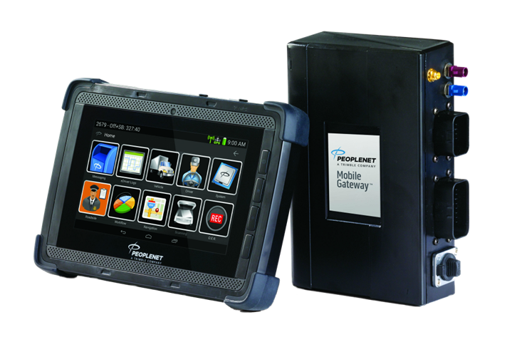 The new TMT predictive maintenance system uses the PeopleNet Mobile