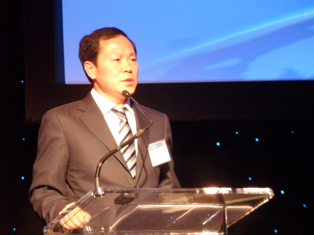 Wang Jinyou, Foton's general manager, envisions his trucks being