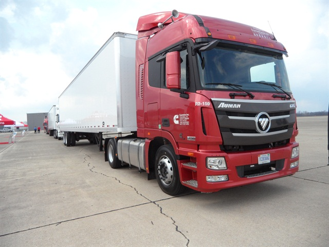 Jointly developed by Foton Motor and Daimler AG for sale in the huge