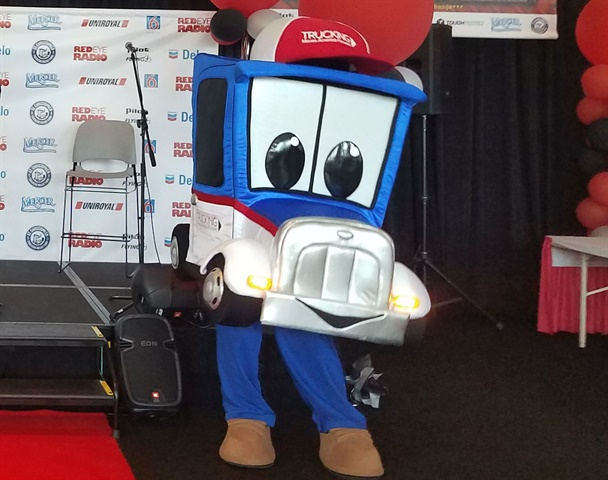 Trucking Moves America officially named its new mascot Safety Sammy