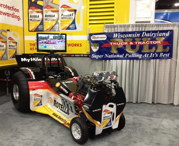At Shell s Mid-America Trucking Show booth, on display was the Koester
