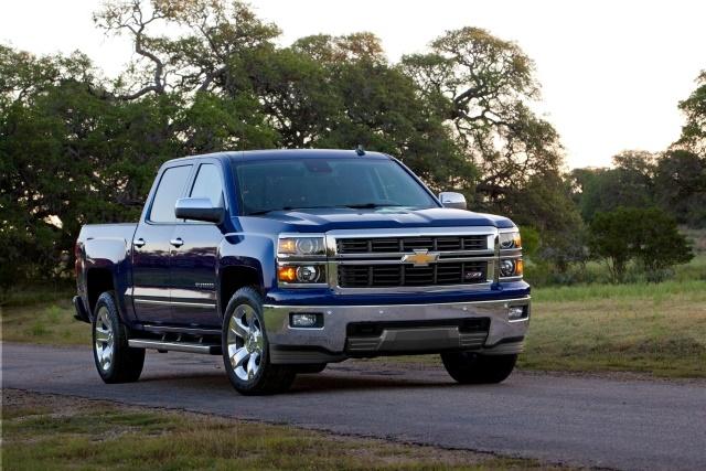 Photo of 2014-MY Chevrolet Silverado courtesy of GM.