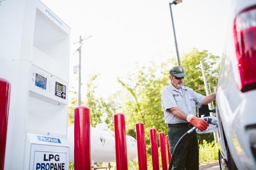 Photo courtesy of CleanFUEL USA.