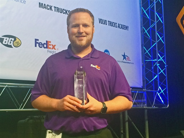 FedEx Freight technician Mark McLean said he hopes to one day move