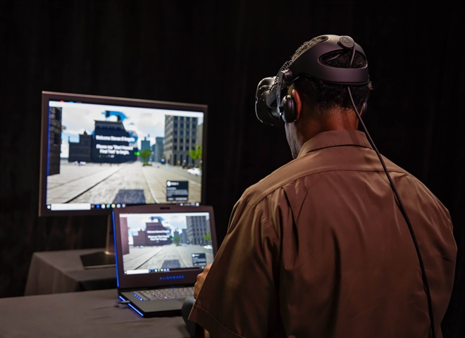 UPS says its new virtual reality training technology is realistic down