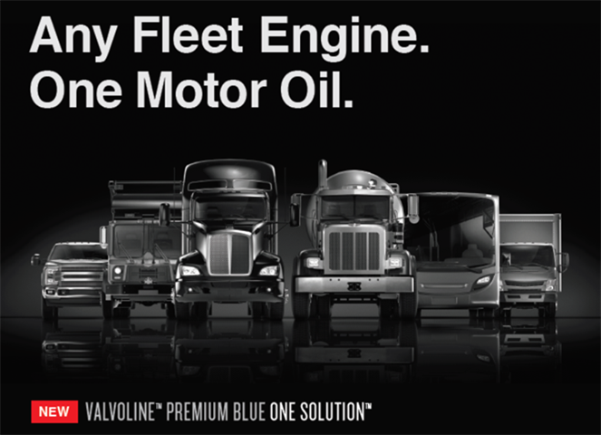 Valvoline s Premium Blue One Solution 9200 engine oil is approved for