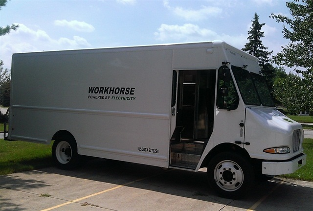 Photo of E-100 truck courtesy of Workhorse Group.