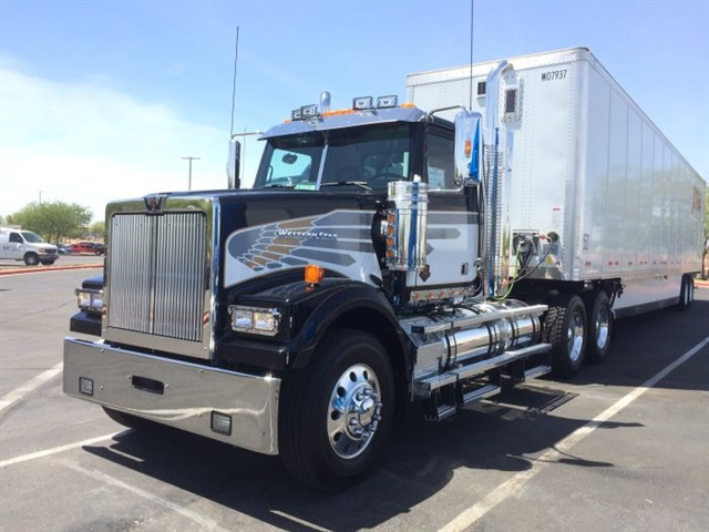 Western Star s newest Model 5700 paint scheme is based on colors and