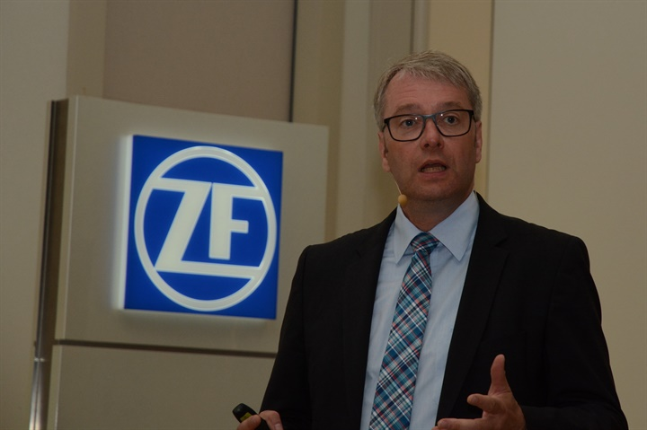 ZF CEO Dr. Stefan Sommer Photo by Jim Park