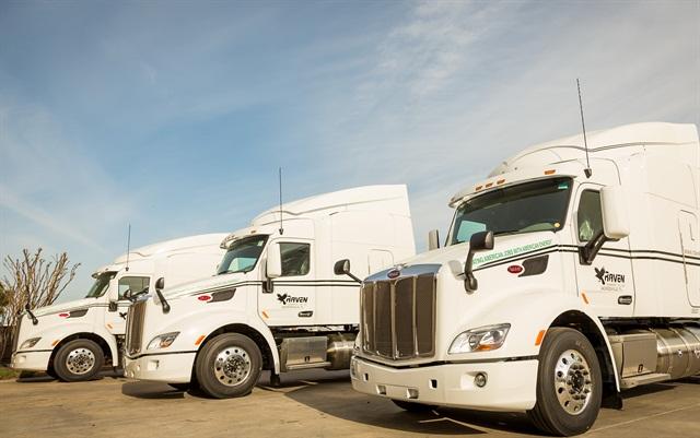raven transport adds 115 lng trucks news. Black Bedroom Furniture Sets. Home Design Ideas
