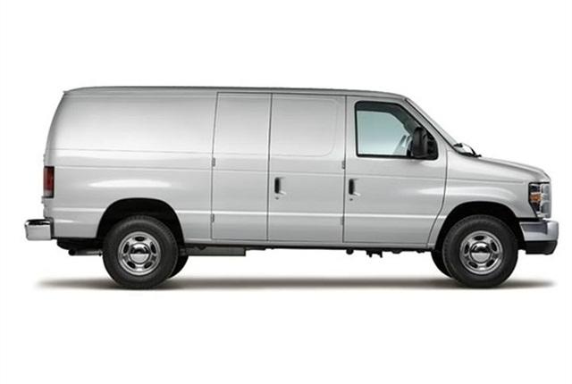 Photo of 2011 E-150 cargo van courtesy of Ford.