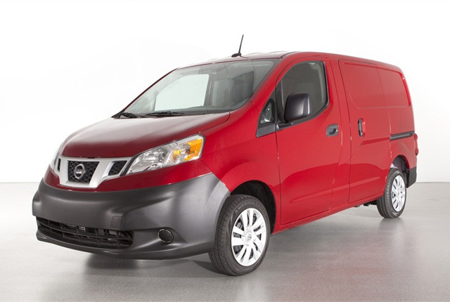 Chevy City Express will be based on Nissan's NV200 compact van. It goes on sale in fall of 2014 as a 2015 model.