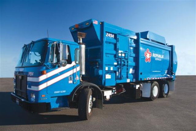 New fleet of Natural Gas Powered Trucks Now Serving Anaheim.