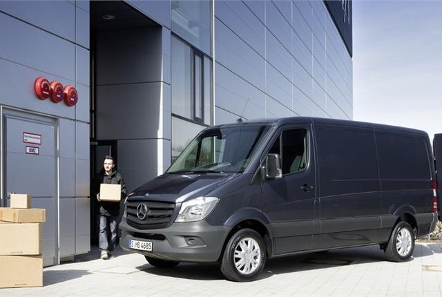 Photo courtesy of Mercedes-Benz Sprinter.