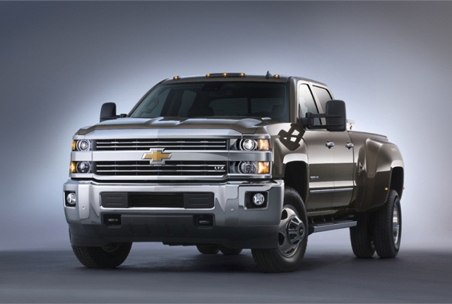 With the 2015 Silverado 3500 customers can chose from gasoline, CNG or diesel power.