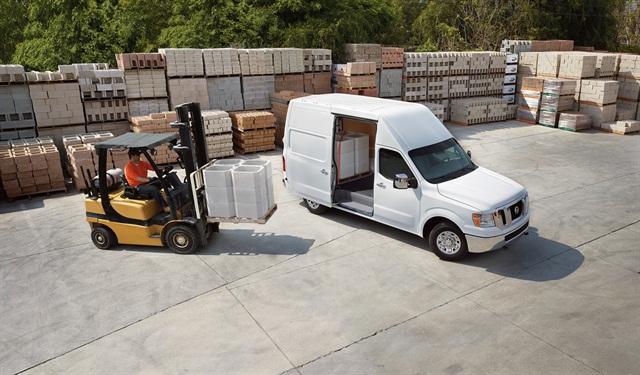 The 2016 NV Cargo Van, photo courtesy of Nissan.