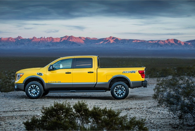 titan xd pickup s a new weight segment nissan says topnews products topnews. Black Bedroom Furniture Sets. Home Design Ideas