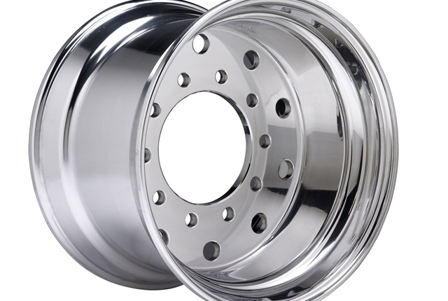 Accuride introduced a new lightweight line of aluminum wheels this year.