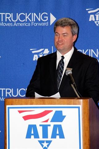 Cliff Johnson, Acuity trucking specialist. Photo: Evan Lockridge