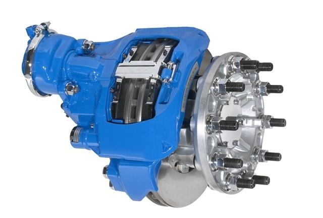 The Bendix ADB22X air disc brake. Photo: Bendix