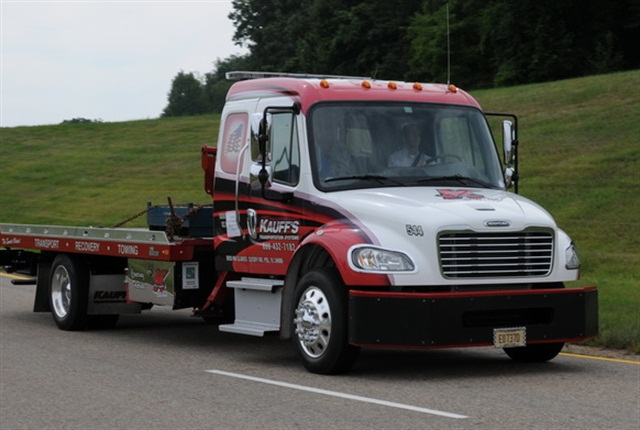 The Procision 7-speed, dual-clutch transmission was designed to suit a multitude of medium-duty applications, including pickup and delivery, rental fleets, school buses, towing/recovery and more. Photo: Jim Park