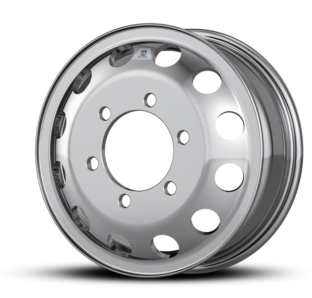 Aluminum wheel for Ford Transit vans. Image: Alcoa.