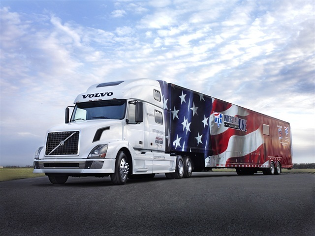 America's Road Team Truck: Photo by Volvo.