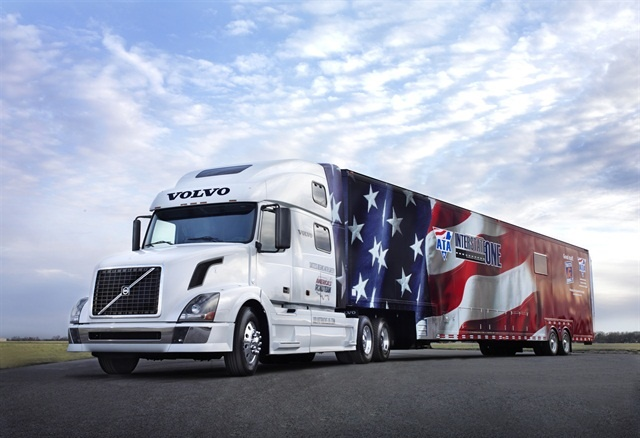 The Volvo VNL 780 donated to America's Road Team. Photo: Volvo Trucks