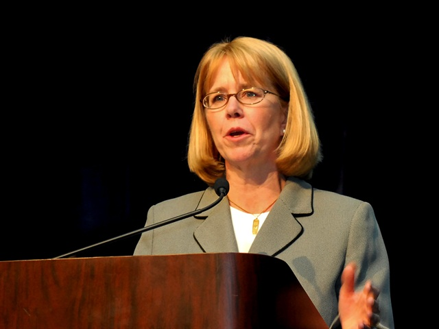 FMCSA Administrator, Anne Ferrro. Photo by Jim Park