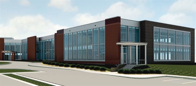 Rendering of the expanded ATS corporate headquarters. Image via ATS