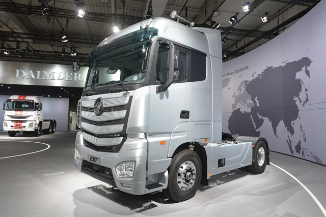 Chinese Truck Maker Teams With Daimler Cummins To Launch