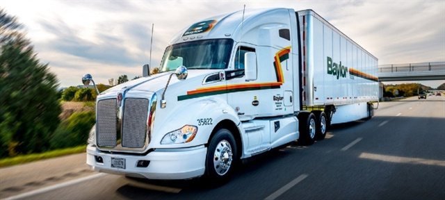 Baylor Trucking is a fourth-generation family-run company, founded by a veteran in 1946. Photo: Baylor Trucking