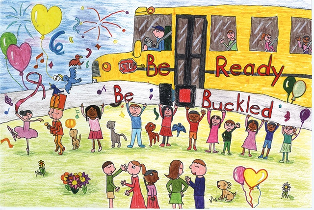 Artwork by Jessica Hong,2nd grade East Brunswick, New Jersey Grand Prize Winner (Kindergarten to 2nd Grade)