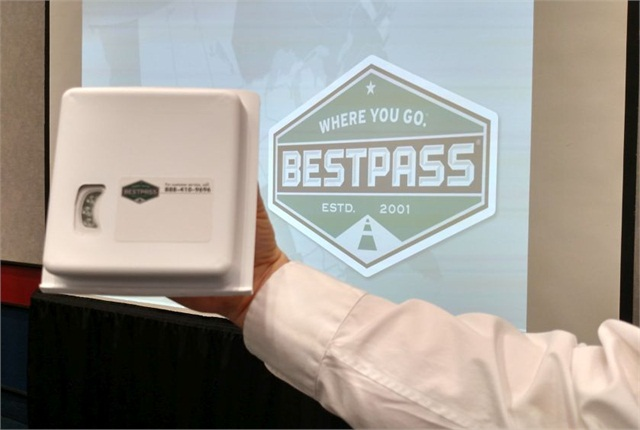 Bestpass transponder works with almost all toll roads and toll bridges in the continental U.S. Photo: Tom Berg