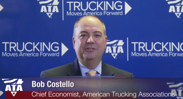 ATA Chief Economist, Bob Costello. Image via ATA