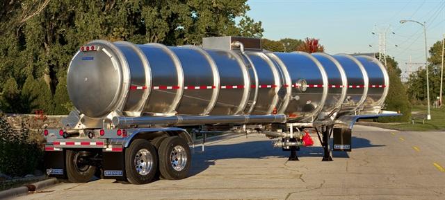 Brenner DOT 407 Standard Crude Oil Aluminum Tank