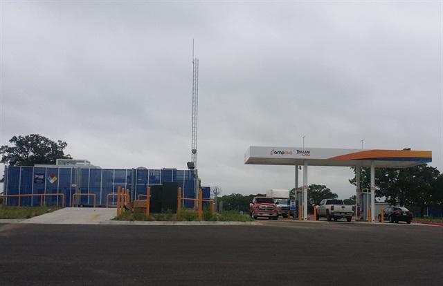 Brock, Texas ampTrillium Station Photo: Trillium CNG