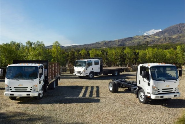 Photo of Chevrolet Low Cab Forward models courtesy of GM.