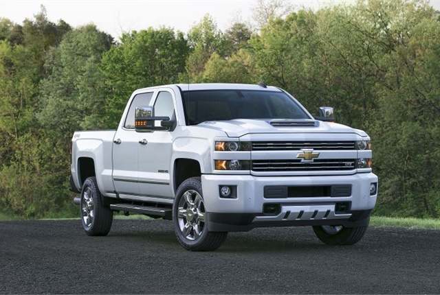 Photo of 2017 Chevrolet Silverado 2500HD courtesy of GM.