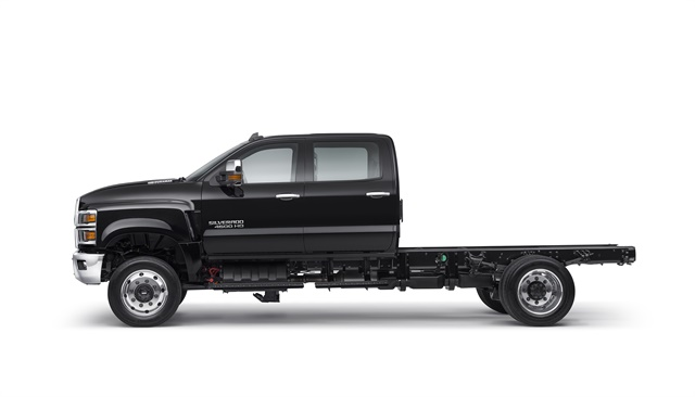 Photo of Chevrolet Silverado 4500HD courtesy of General Motors.