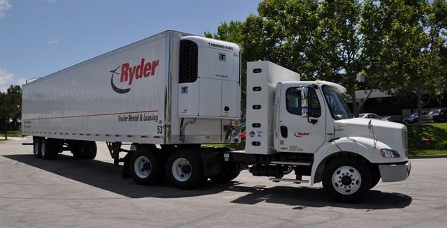 Ryder has CNG and LNG vehicles deployed in customer fleets in California, New York, Michigan, Texas, Arizona, Utah, Georgia and Louisiana. Photo courtesy Ryder.