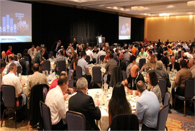 The 2014 Fleet Safety Awards ceremony.