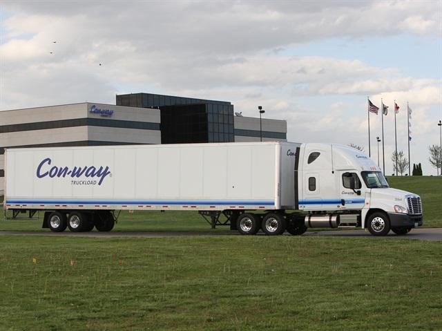 Photo via Con-way Truckload.