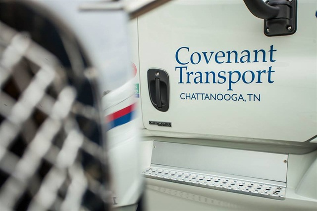 Photo via Covenant Transport