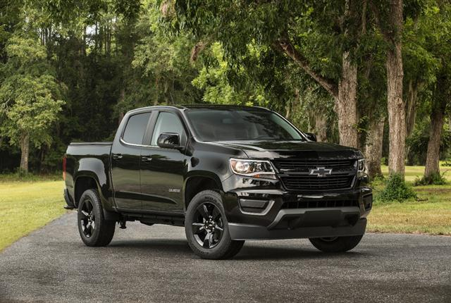 Photo of Chevrolet Colorado courtesy of GM.