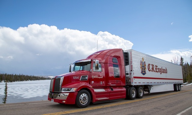 C.R. England is adding nearly 200 Western Star 5700 XE tractors to it's fleet this year. Photo courtesy of C.R. England