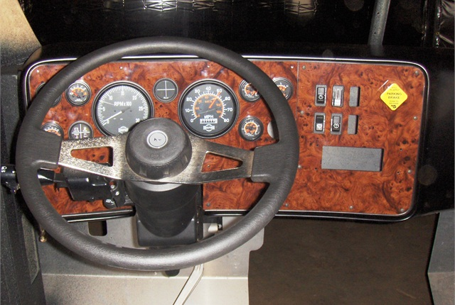 Instruments and controls will use hard wiring to ensure simplicity and reliability, the company says. Photo: Diamond Specialty Vehicles LLC