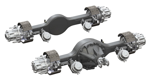 Paccar adds Spicer EconoTrek 6x2, AdvanTEK 40 Tandem Axles