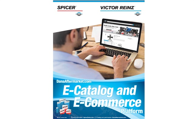 Dana has updated its DanaAftermarket.com e-catalog and e-commerce platform. Image: Dana